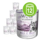 Økonomipakke Little Wolf of Wilderness 12 x 800 g