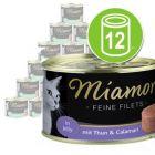 Økonomipakke Miamor Fine Fileter 12 x 185 g