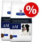 Økonomipakke: 2 / 3 pakker Hill's Prescription Diet hundefoder