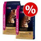 Økonomipakke: 2 poser Eukanuba kattefoder