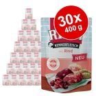 Økonomipakke: RINTI Kød for Kendere Pouches 30 x 400 g