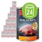 Økonomipakke: Rocco Real Hearts 24 x 400 g