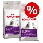 Økonomipakke: 2 små poser Royal Canin kattefôr