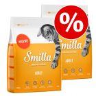 Økonomipakke: Smilla kattefoder 2 x 4 kg