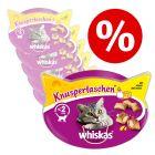 Økonomipakke: Whiskas Snacks 40 / 50 / 55 / 60 g