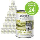 Økonomipakke Wolf of Wilderness Adult 24 x 400 g