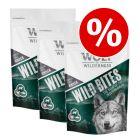 Økonomipakke: Wolf of Wilderness Snack - Wild Bites 3 x 180 g