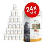 Økonomipakke: 24 x 55 g Almo Nature HFC Natural Plus