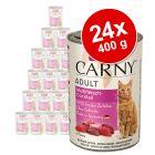 Økonomipakke: 24 x 400 g Animonda Carny Adult