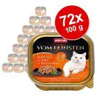 Økonomipakke: 72 x 100 g Animonda vom Feinsten Adult kornfrit i sauce