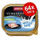 Økonomipakke: 64 x 100 g Animonda Vom Feinsten Adult Milkies
