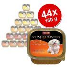 Økonomipakke: 44 x 150 g Animonda Vom Feinsten Mixpack