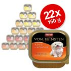 Økonomipakke: 22 x 150 g Animonda Vom Feinsten Mix-pakke