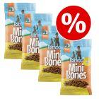 Økonomipakke: 4 / 8 x 200 g Barkoo Mini Bones