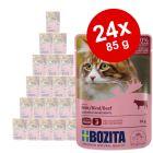 Økonomipakke: 24 x 85 g Bozita Bidder i gelé Pouch