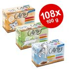 Økonomipakke: 108 x 100 g Catessy i portionspose