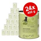 Økonomipakke: 24 x 400 g catz finefood i dåse
