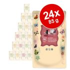 Økonomipakke: 24 x 85 g catz finefood øko