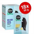 Økonomipakke: 18 x 50 g Cosma Nature portionsposer