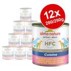 Økonomipakke: 12 x  280 g / 290 g Almo Nature HFC