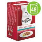 Økonomipakke: 48 x 50 g Gourmet Mon Petit
