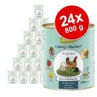 Økonomipakke: 24 x 800 g GranataPet Liebling's Mahlzeit