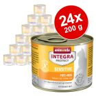 Økonomipakke: 24 x 200 g Integra Protect Adult Sensitive i dåse