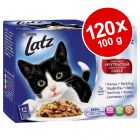 Økonomipakke: 120 x 100 g Latz portionsposer