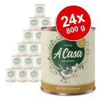 Økonomipakke: 24 x 800 g Lukullus A Casa hundefoder