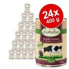 Økonomipakke: 24 x 400 g Lukullus Adult