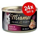 Økonomipakke: 24 x 100 g Miamor Fine Fileter