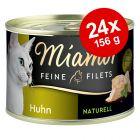 Økonomipakke: 24 x 156 g Miamor Fine Fileter Naturel