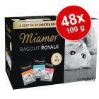 Økonomipakke: 48 x 100 g Miamor Ragout Royale