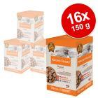 Økonomipakke: 16 x 150 g Mix: Nature's Variety Original Paté No Grain Mini