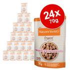 Økonomipakke: 24 x 70 g Nature's Variety Original Paté No Grain