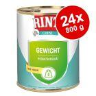 Økonomipakke: 24 x 800 g RINTI Canine Specialfoder