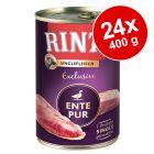Økonomipakke: 24 x 400 g RINTI Monoprotein Exclusive