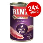 Økonomipakke: 24 x 800 g RINTI Monoprotein Exclusive