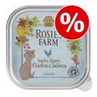 Økonomipakke: 32 x 100 g Rosie's Farm Senior