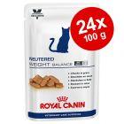 Økonomipakke: 24 x 100/195 g Royal Canin Vet Care Nutrition