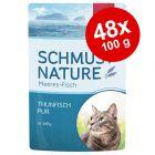 Økonomipakke: 44/48 x 100 g Schmusy