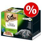 """Økonomipakke: 96 x 85 g Sheba bakker """"Uimodståelige varianter"""""""