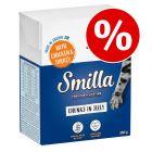 Økonomipakke: 24 x 370 / 380 g Smilla Bidder