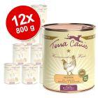 Økonomipakke:  12 x 800 g Terra Canis hundefoder