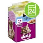Økonomipakke: 24 x 50 g Whiskas Fresh Menu