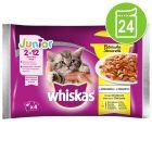 Økonomipakke: 24 x 85 g Whiskas Junior portionspose