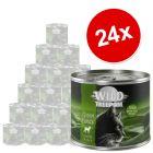 Økonomipakke: 24 x 200 g Wild Freedom Adult