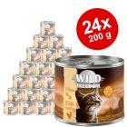 Økonomipakke: 24 x 200 g Wild Freedom Kitten