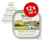 Økonomipakke: 12 x 300 g Wolf of Wilderness Adult