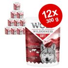 "Økonomipakke: 12 x 300 g Wolf of Wilderness Adult ""Soft & Strong"""